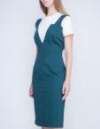 Платье с плиссировкой на спине INS_FW17_1807, фото 6 - в интеренет магазине KAPSULA