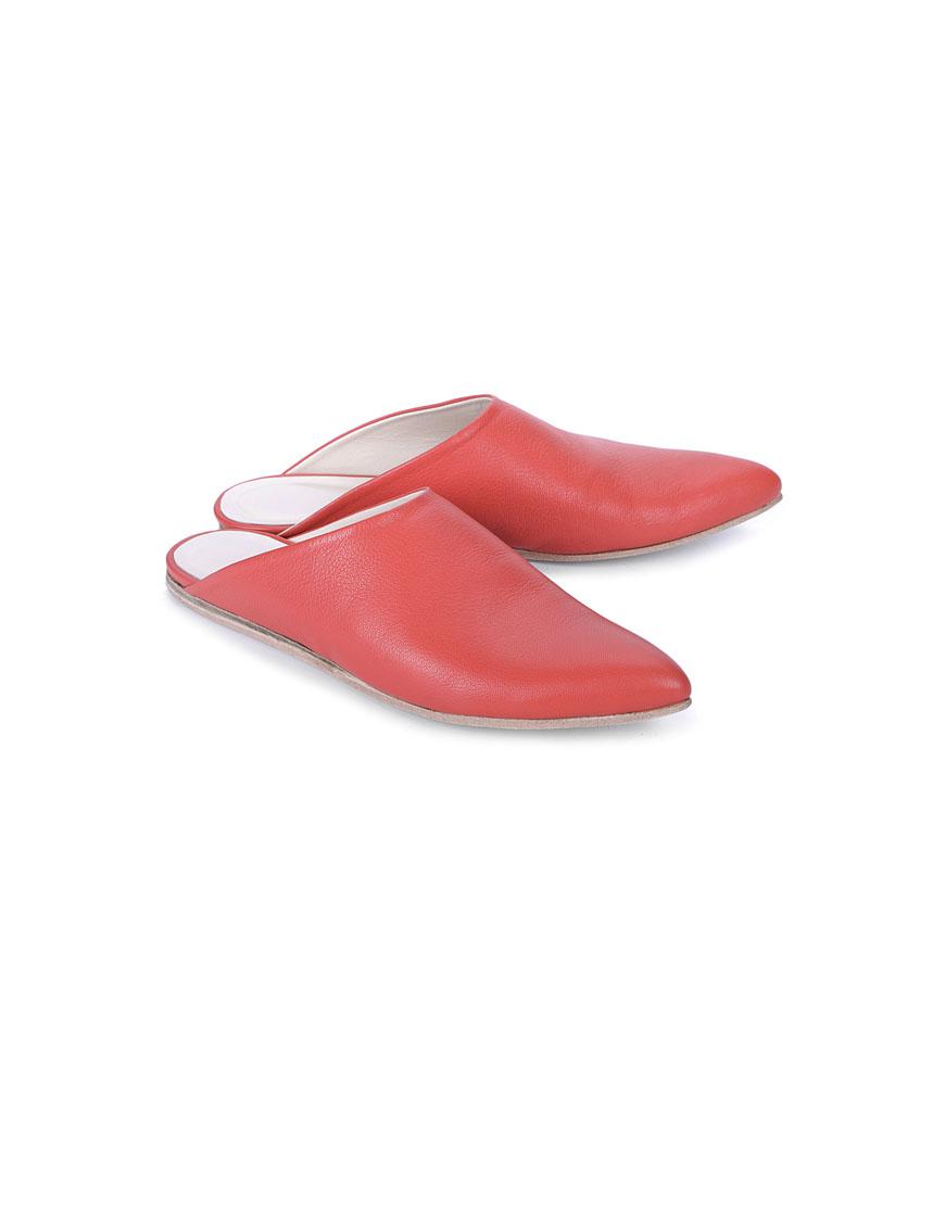 Сабо Amiga с острым носком