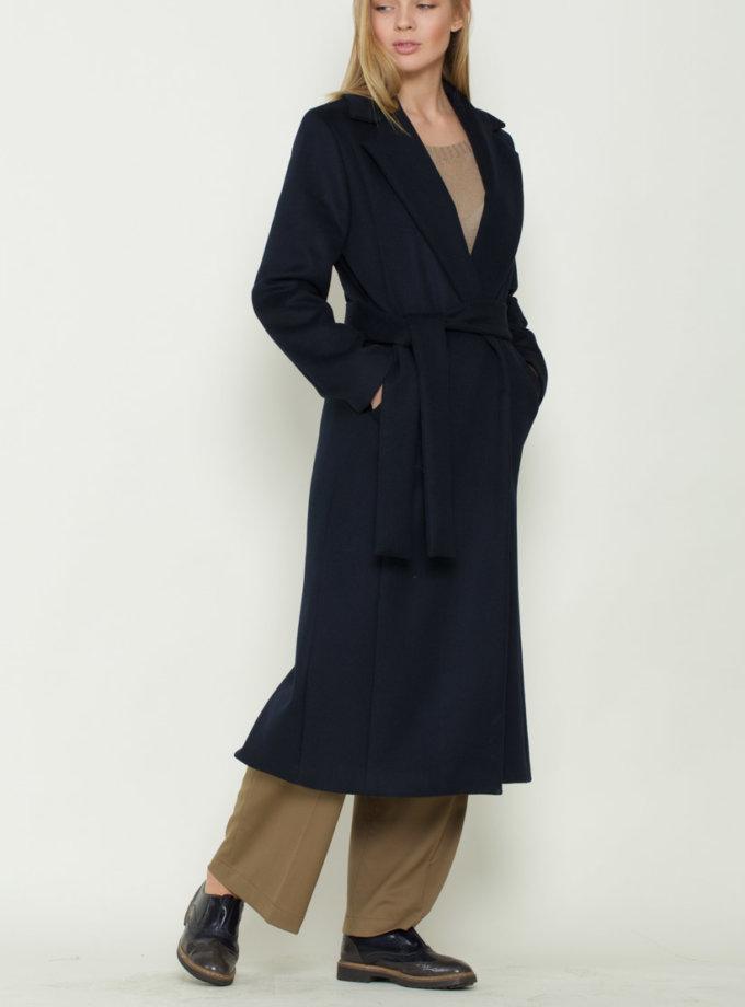 Пальто шерстяное на запахе INS_FW17/01/1, фото 1 - в интернет магазине KAPSULA