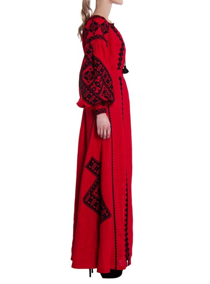 Платье вышиванка «Берегиня» FOBERI_01067, фото 1 - в интернет магазине KAPSULA