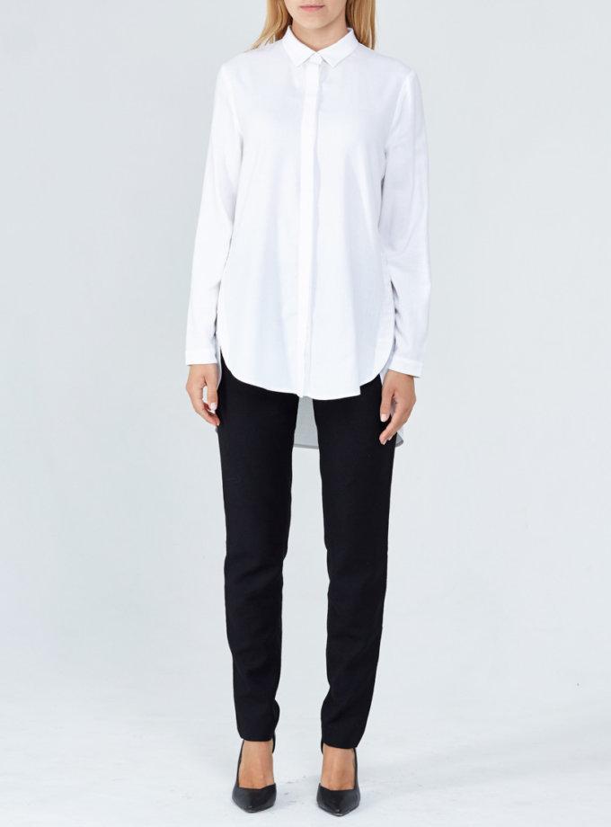 Удлиненная рубашка PPM_PM-07, фото 1 - в интеренет магазине KAPSULA