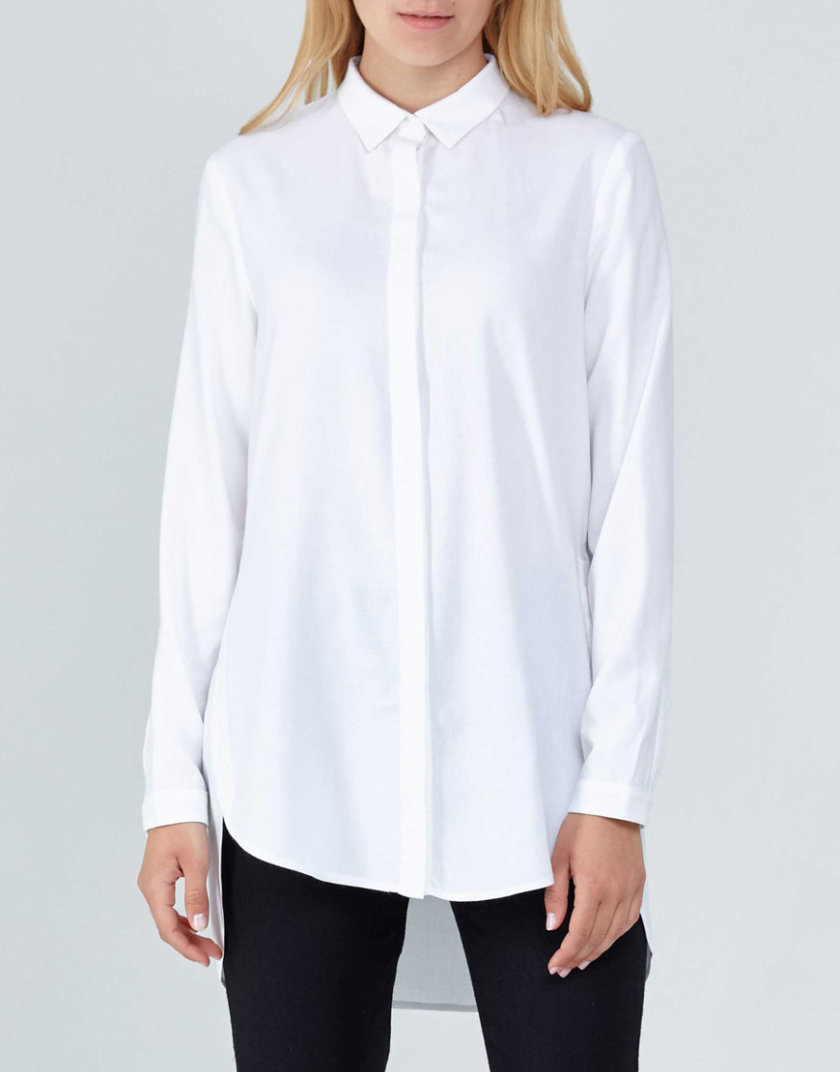 Удлиненная рубашка PPM_PM-07, фото 1 - в интернет магазине KAPSULA