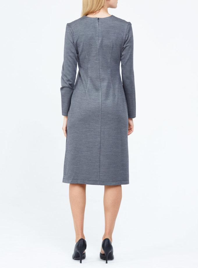 Трикотажное платье PPM_PM-12, фото 1 - в интеренет магазине KAPSULA