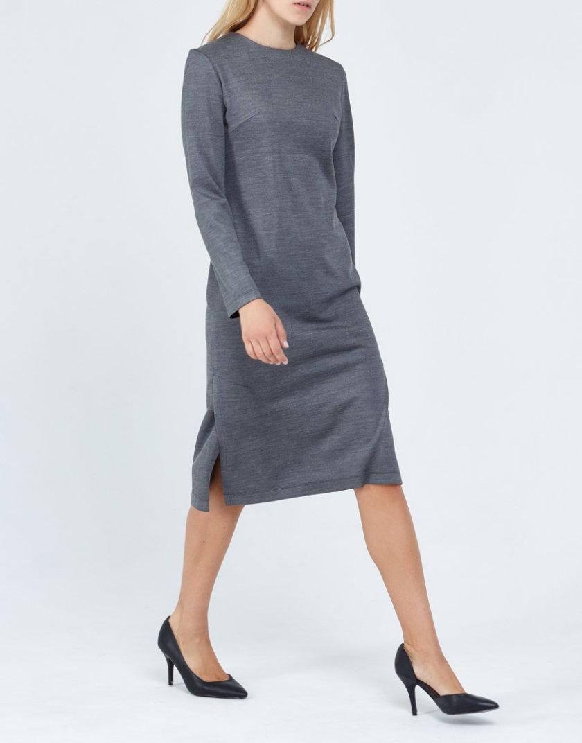 Трикотажное платье PPM_PM-12, фото 1 - в интернет магазине KAPSULA