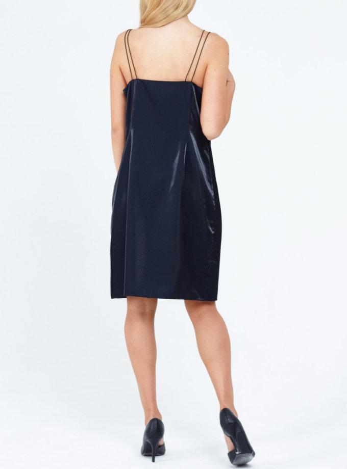 Платье с блеском PPM_PM-21, фото 1 - в интеренет магазине KAPSULA