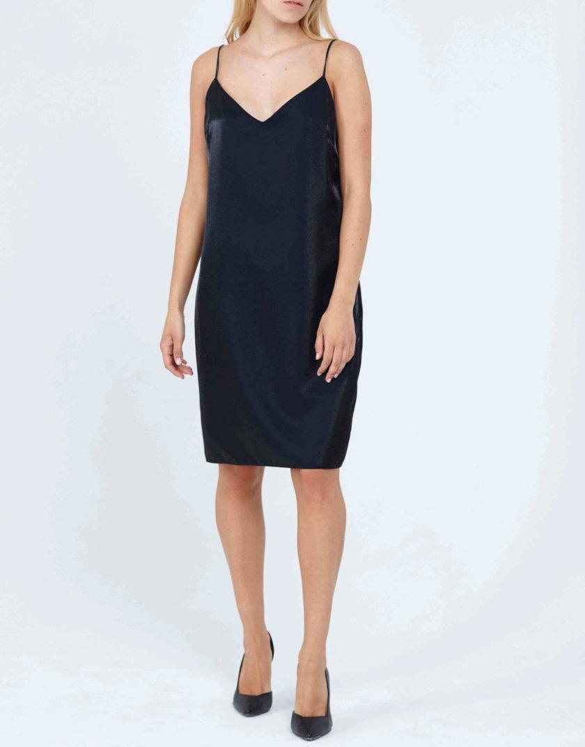 Платье с блеском PPM_PM-21, фото 1 - в интернет магазине KAPSULA