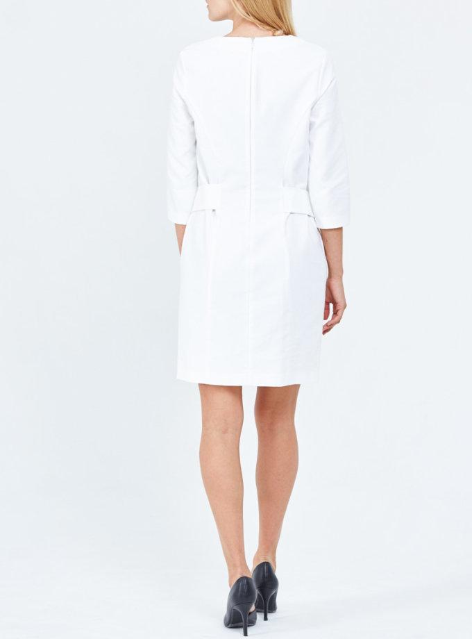 Платье из фактурного хлопка PPM_PM-22, фото 1 - в интернет магазине KAPSULA