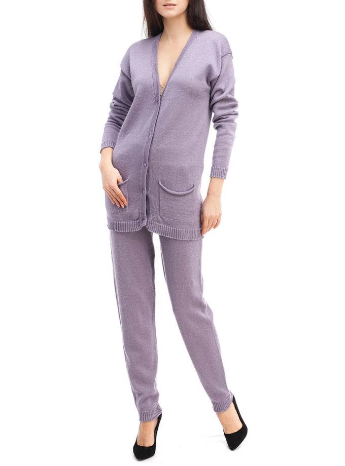 Лавандовый трикотажный костюм HMCRG_Suit_sprt_1_outlet, фото 1 - в интеренет магазине KAPSULA