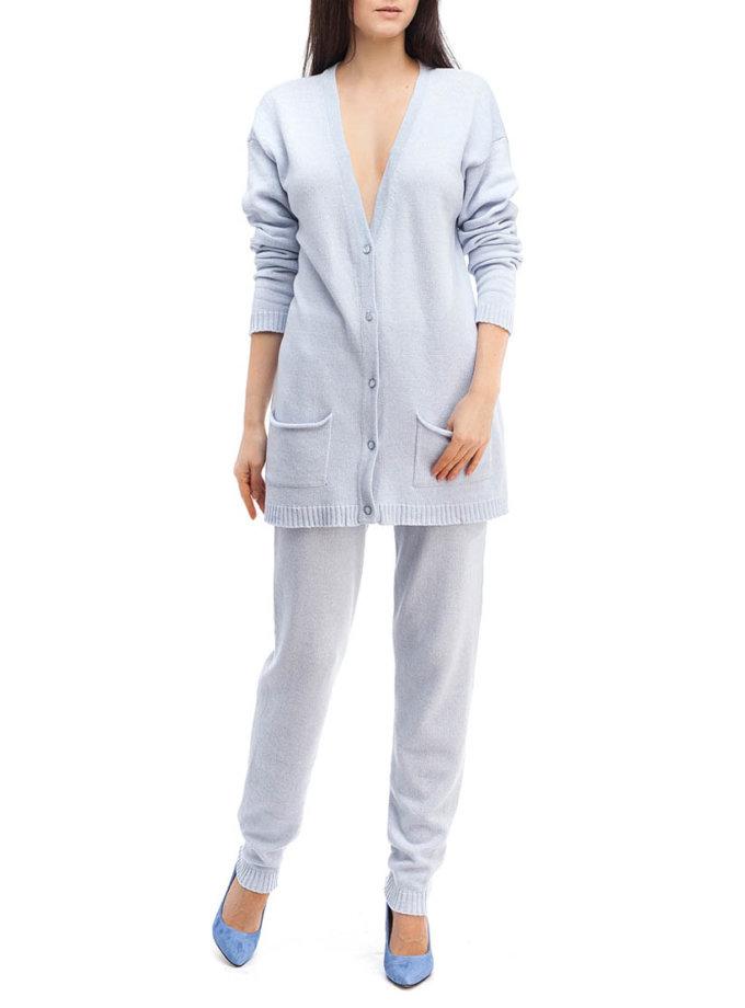 Небесно-голубой трикотажный костюм HMCRG_Suit_sprt_2_outlet, фото 1 - в интеренет магазине KAPSULA