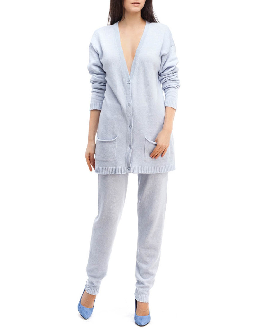 Небесно-голубой трикотажный костюм HMCRG_Suit_sprt_2_outlet, фото 1 - в интернет магазине KAPSULA