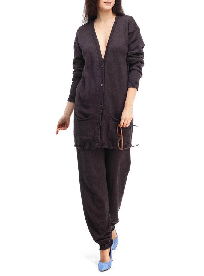 Шоколадный трикотажный костюм HMCRG_Suit_sprt_4_outlet, фото 1 - в интеренет магазине KAPSULA