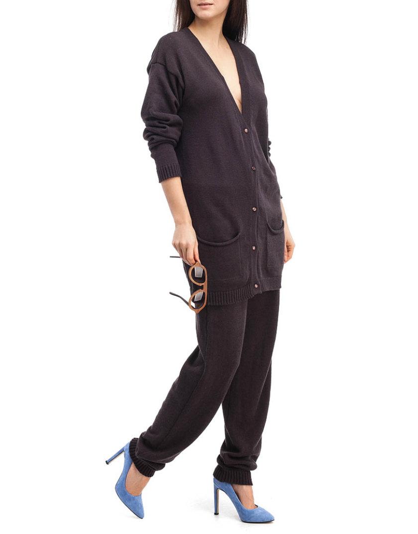 Шоколадный трикотажный костюм HMCRG_Suit_sprt_4_outlet, фото 1 - в интернет магазине KAPSULA