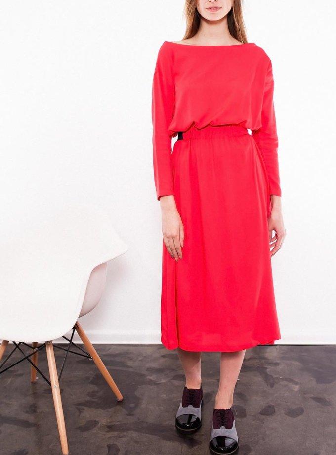 Платье на резинке с вышивкой INS_SS1701_outlet, фото 1 - в интернет магазине KAPSULA