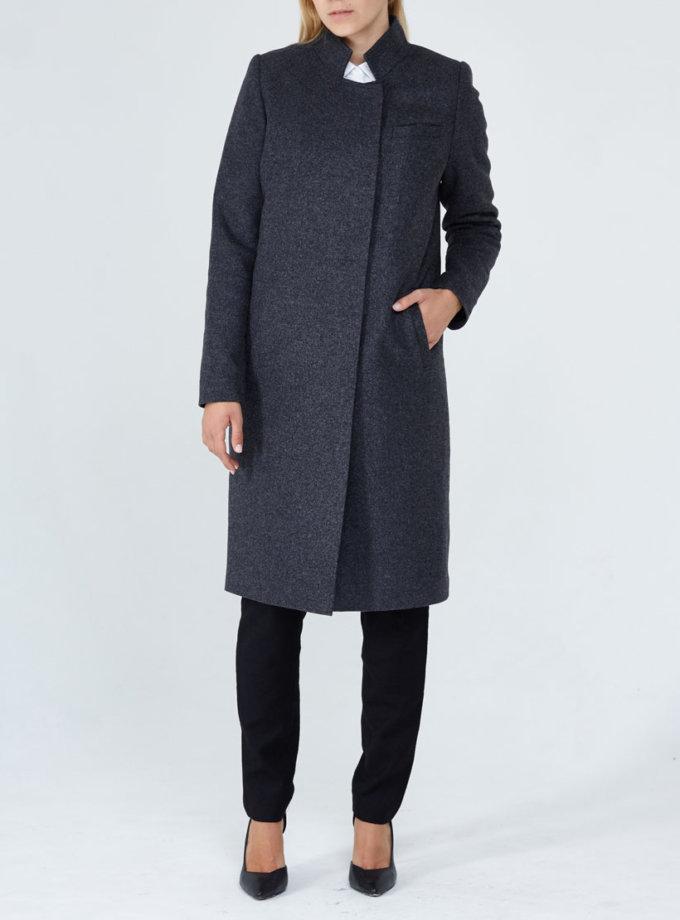 Шерстяное утеплённое пальто PPM_PM-18, фото 1 - в интернет магазине KAPSULA