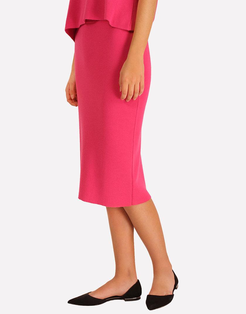 Трикотажная юбка с разрезом JND_16-040504_3, фото 1 - в интеренет магазине KAPSULA