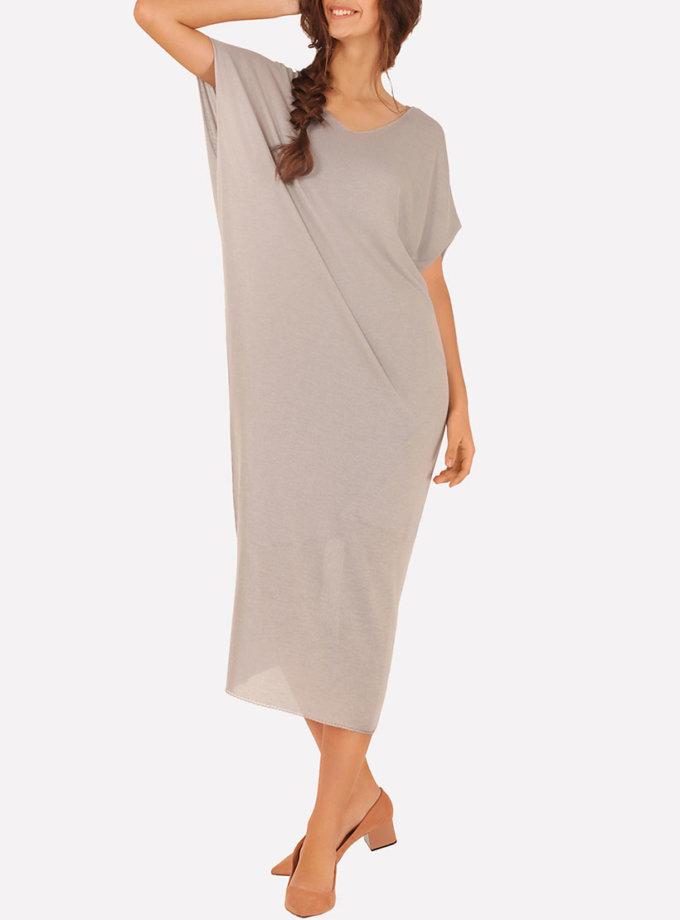 Бесшовное вязаное платье макси JND_16-040610_3, фото 1 - в интернет магазине KAPSULA