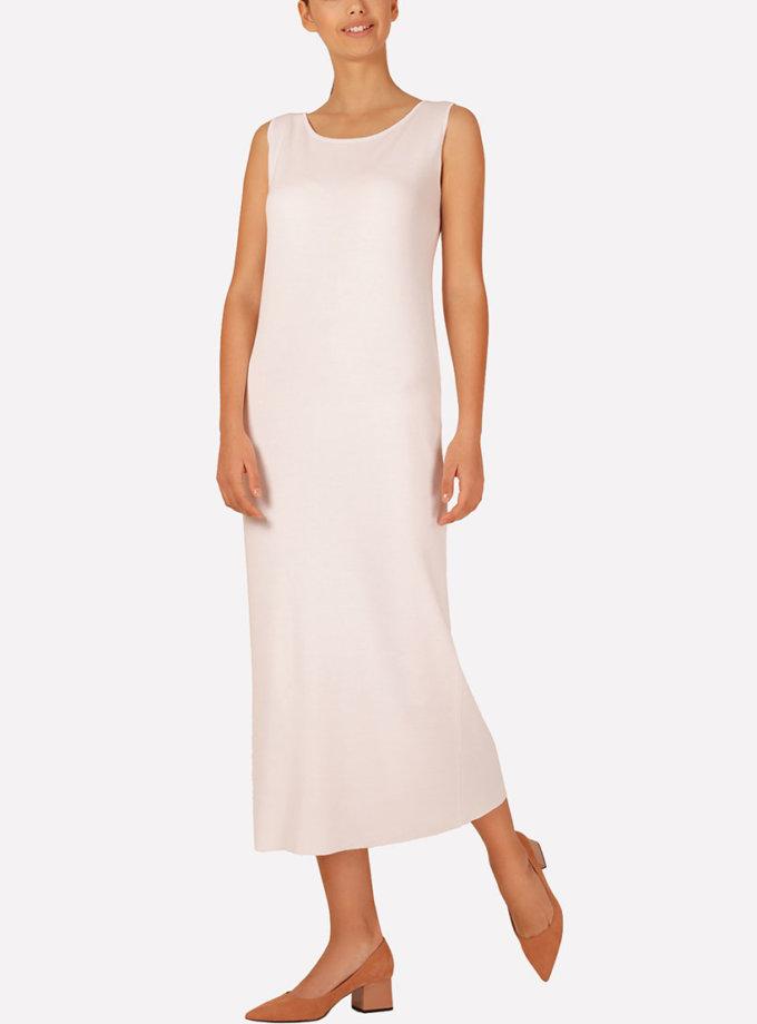 Бесшовное вязаное платье полуприлегающего силуэта JND_16-040611_2, фото 1 - в интеренет магазине KAPSULA