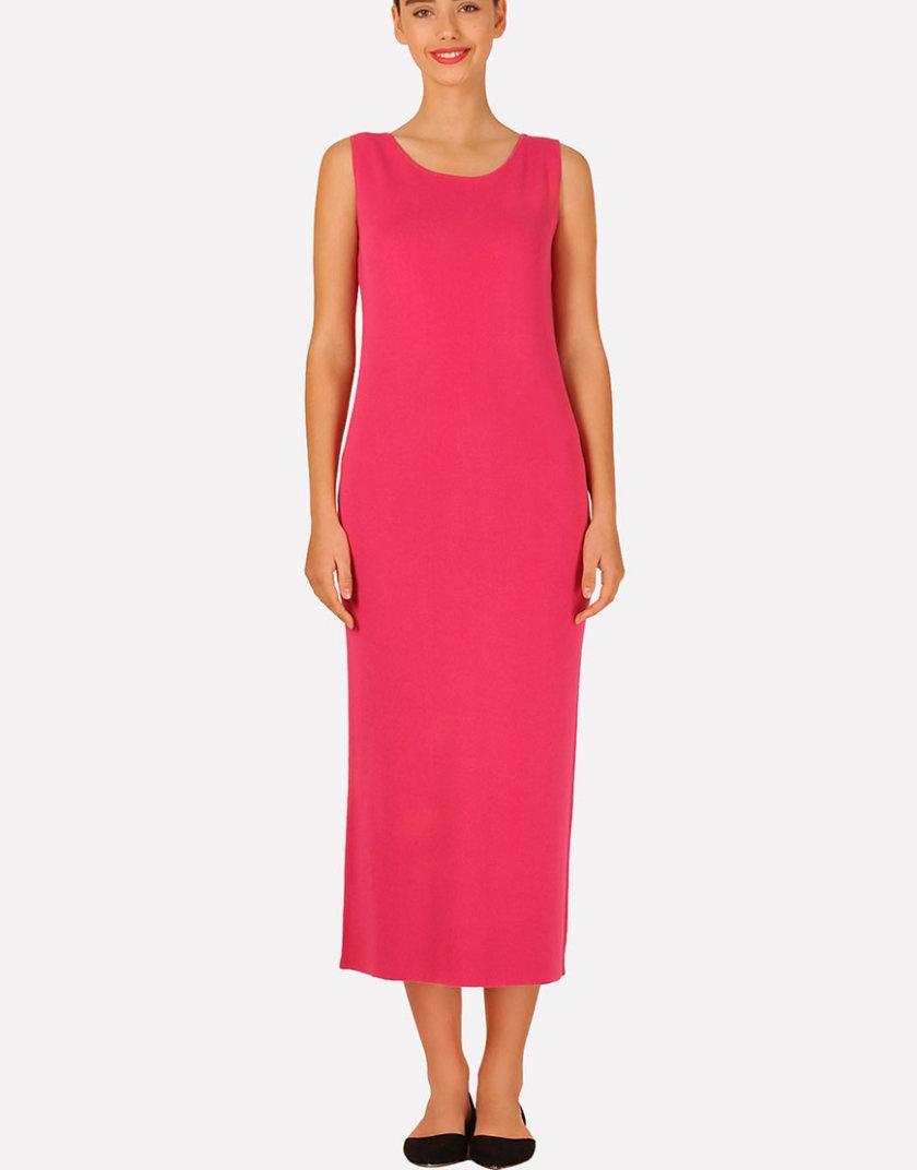 Бесшовное вязаное платье полуприлегающего силуэта JND_16-040611_3, фото 1 - в интернет магазине KAPSULA