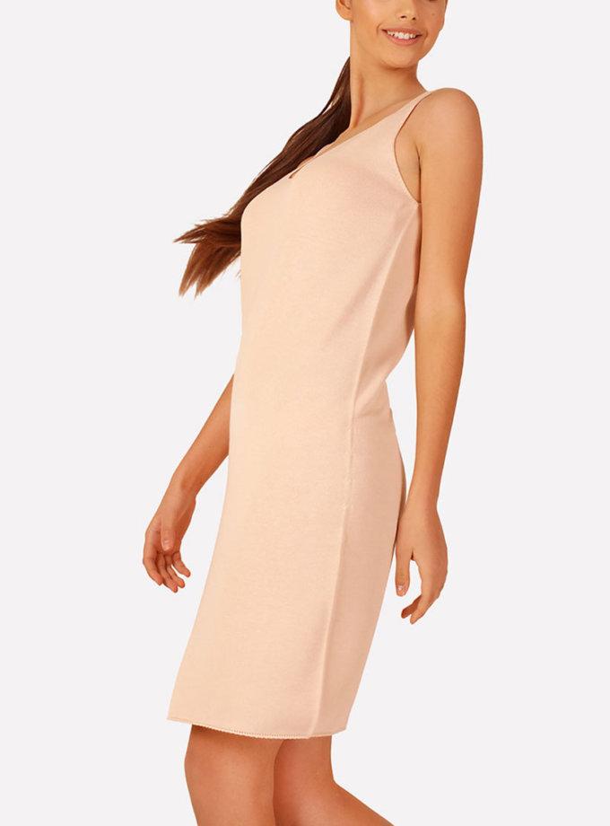 Базовое вязаное платье прилегающего силуэта JND_16-040612_3, фото 1 - в интеренет магазине KAPSULA
