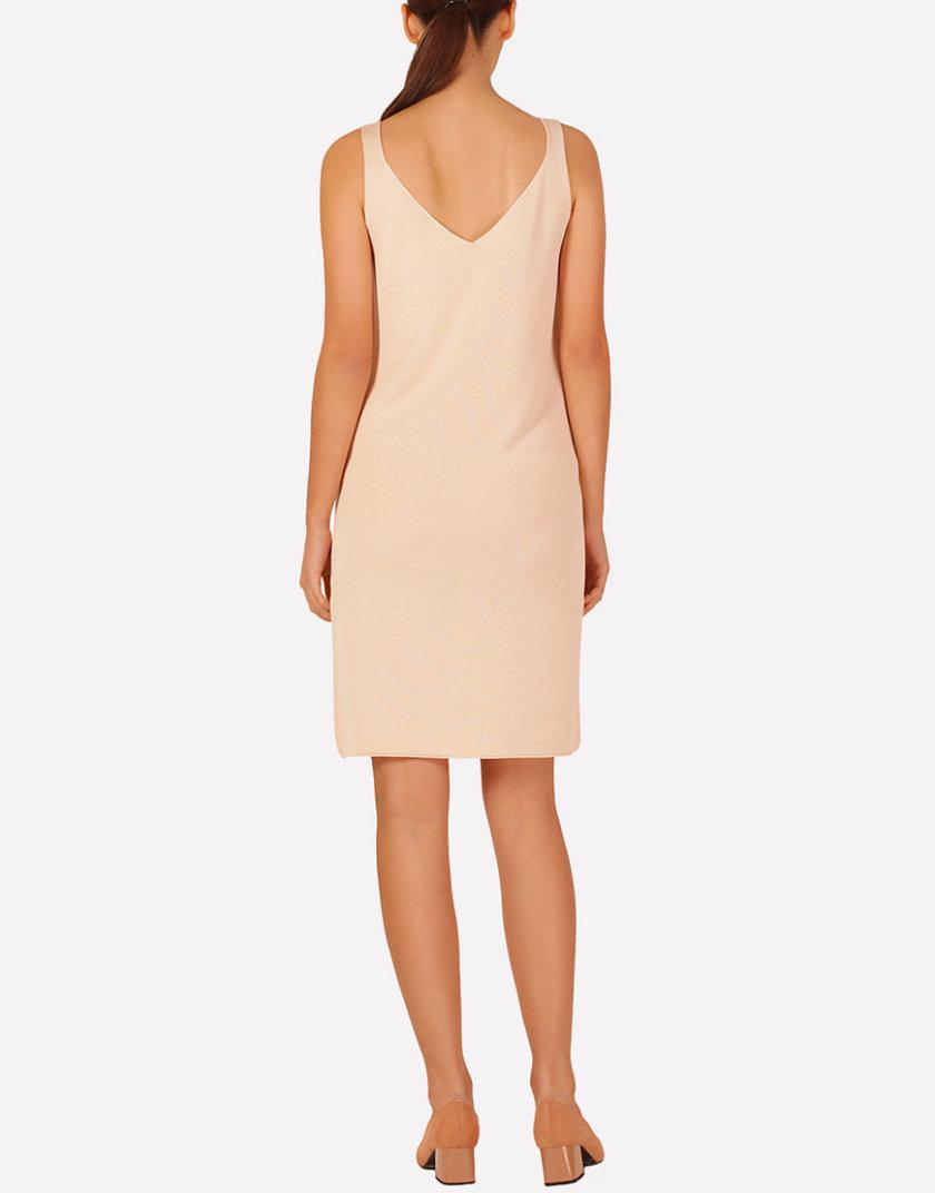 Базовое вязаное платье прилегающего силуэта JND_16-040612_3, фото 1 - в интернет магазине KAPSULA