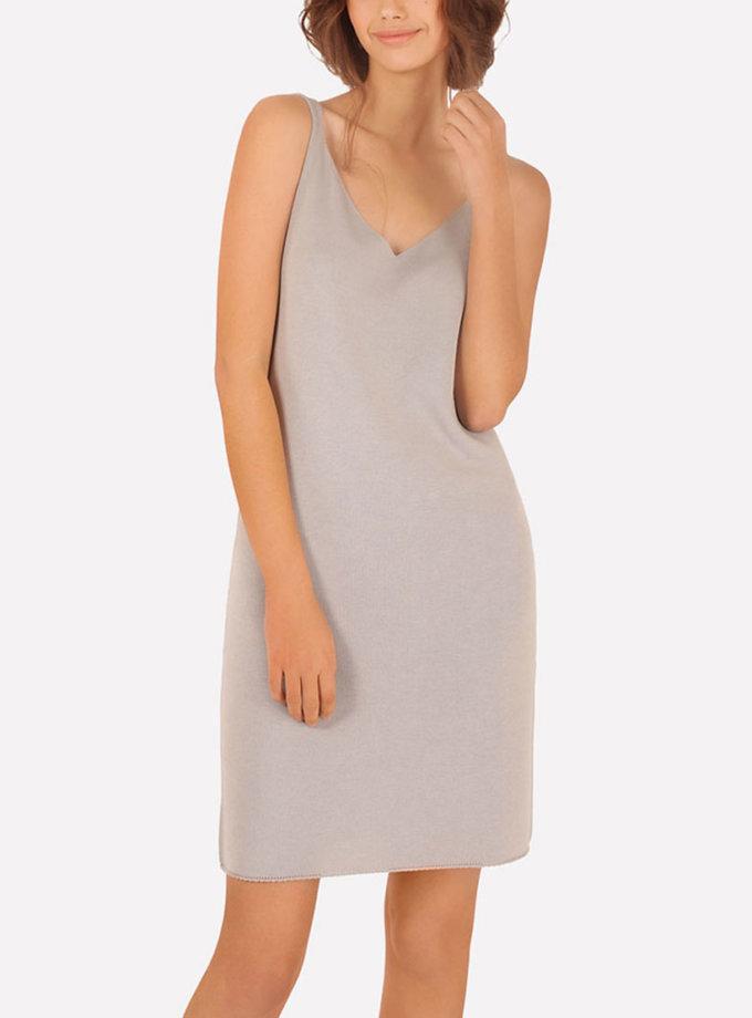 Базовое вязаное платье прилегающего силуэта JND_16-040612_5, фото 1 - в интеренет магазине KAPSULA