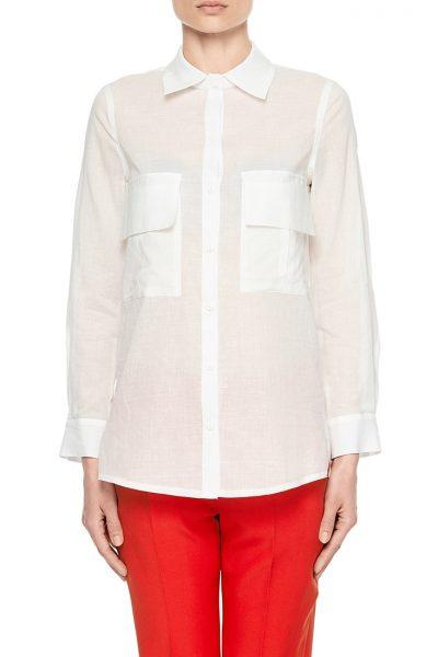 Рубашка из тонкого хлопка AY_1888, фото 1 - в интеренет магазине KAPSULA