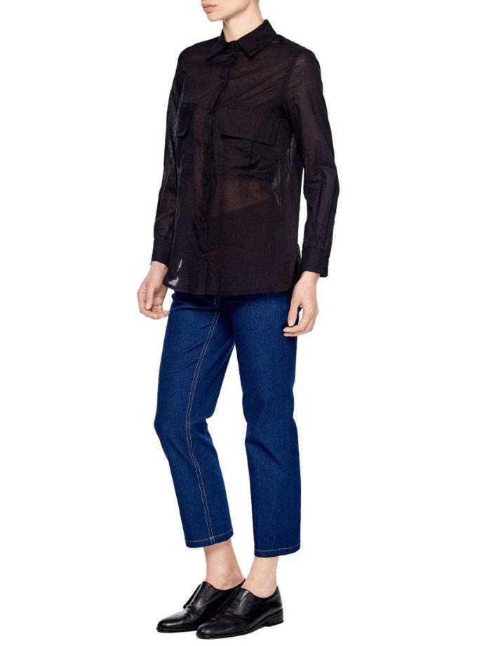 Блуза на запахе под пояс AY_1903, фото 1 - в интеренет магазине KAPSULA