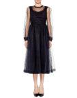 Платье с юбкой из фатина AY_1966_outlet, фото 5 - в интеренет магазине KAPSULA