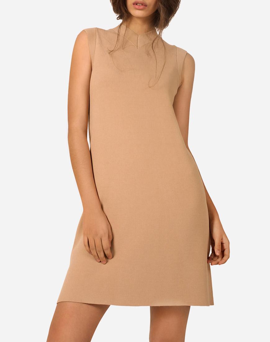 Платье мини А-силуэта