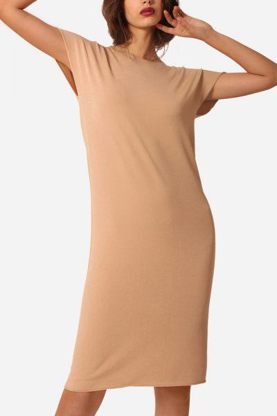 Вязаное платье из вискозы JND_16-140604 _1, фото 4 - в интеренет магазине KAPSULA