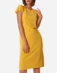 Вязаное платье из вискозы JND_16-140604 _1, фото 5 - в интеренет магазине KAPSULA
