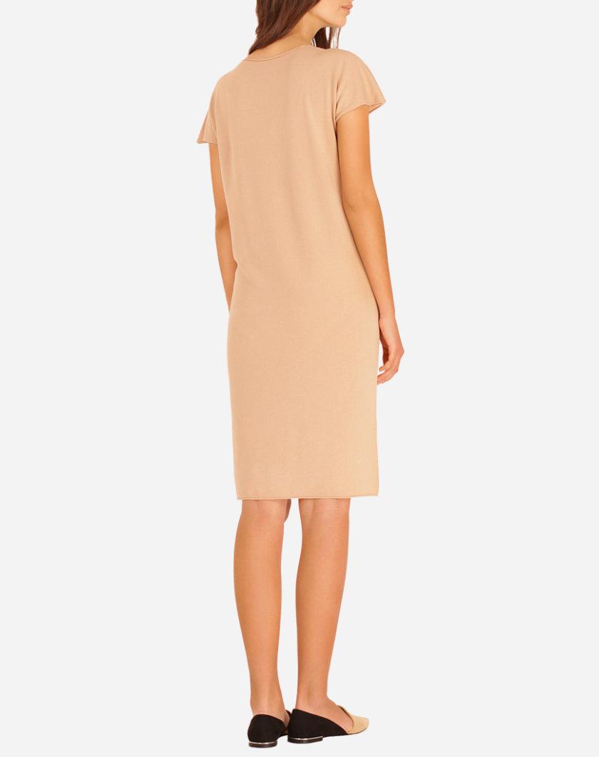 Вязаное платье из вискозы JND_16-140604 _1, фото 1 - в интернет магазине KAPSULA