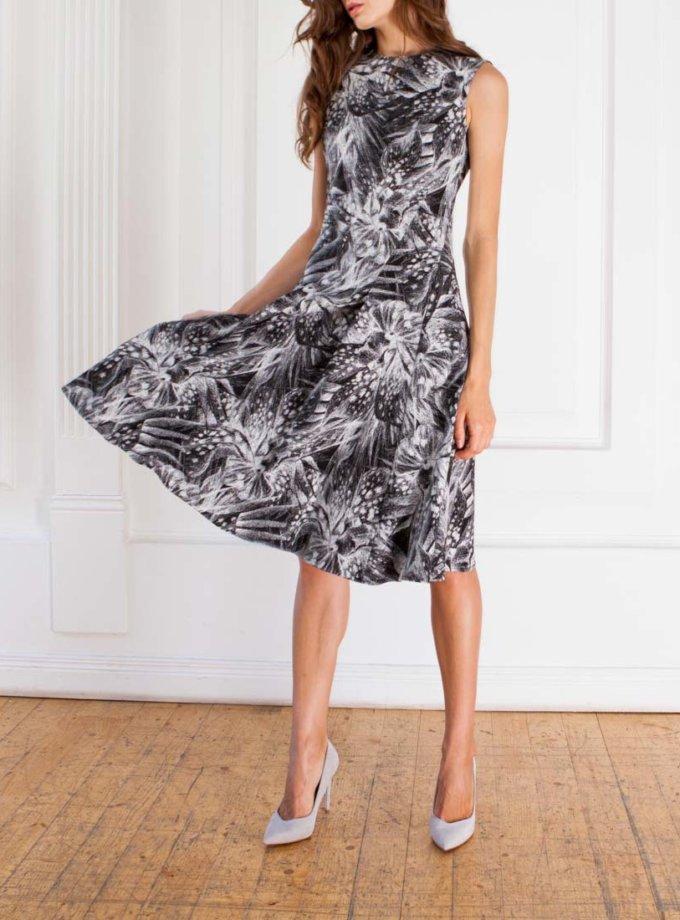 Платье А-силуэта из жаккарда SHKO_14029011_outlet, фото 1 - в интернет магазине KAPSULA