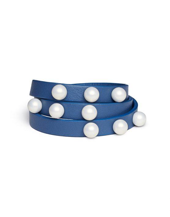 Кожаный браслет Implexus Azzurro LIA_BO_BRSL_1, фото 6 - в интеренет магазине KAPSULA