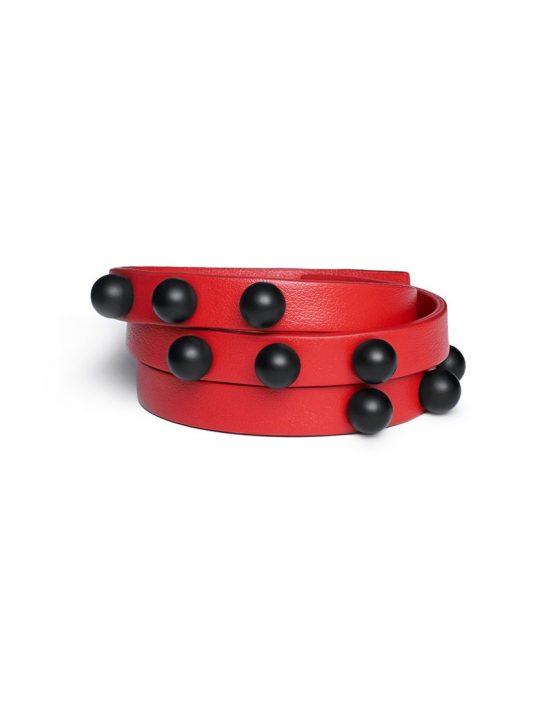Кожаный браслет Implexus Rosso LIA_BO_BRSL_5, фото 6 - в интеренет магазине KAPSULA