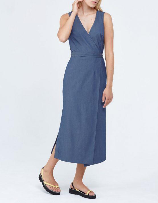 Платье с завязками PPM_PM-33_1, фото 6 - в интеренет магазине KAPSULA