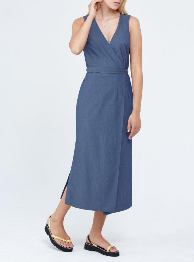Платье с завязками PPM_PM-33_1, фото 1 - в интернет магазине KAPSULA