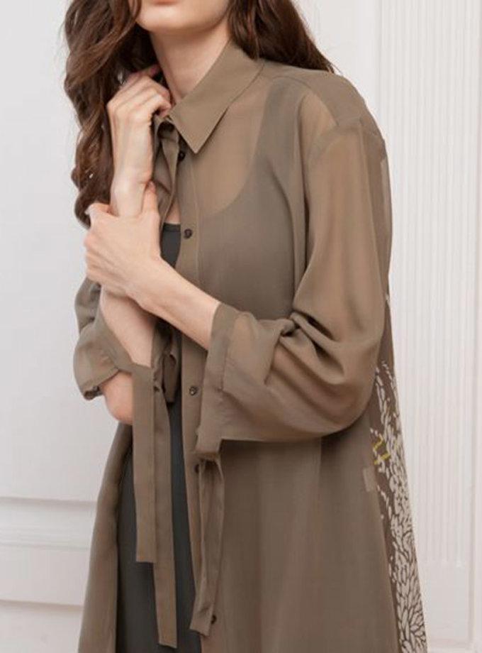 Шелковая накидка SHKO_17015004, фото 1 - в интернет магазине KAPSULA
