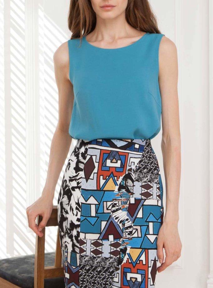Легкая блуза из вискозы SHKO_13076062, фото 1 - в интернет магазине KAPSULA