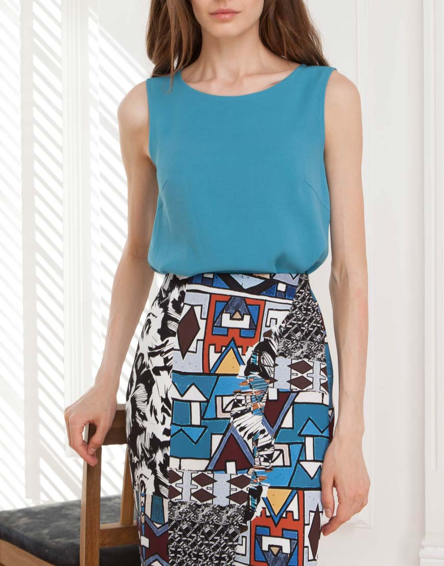 Купить Легкая блуза из вискозы