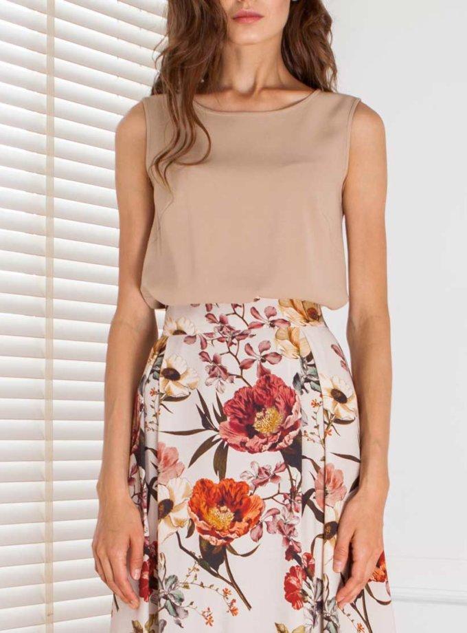 Легкая блуза из вискозы SHKO_13076070, фото 1 - в интернет магазине KAPSULA