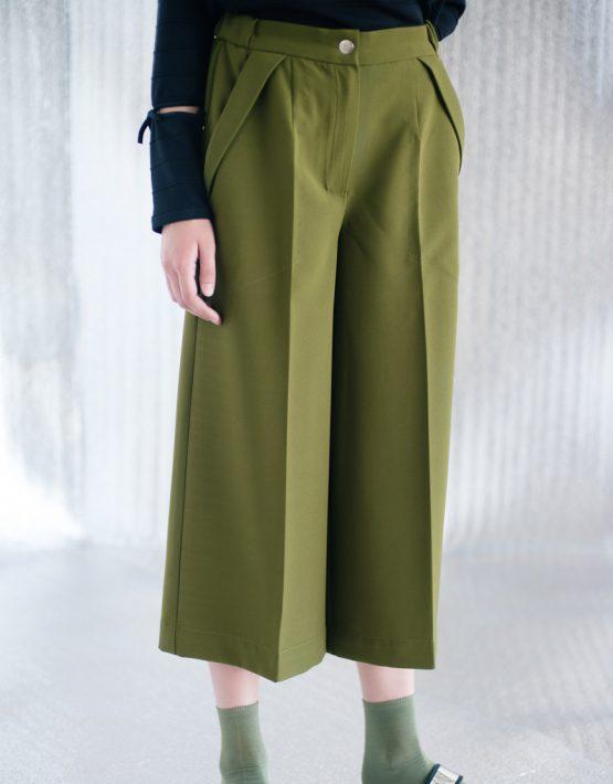 Кюлоты с карманами CYAN_TR#I02, фото 2 - в интеренет магазине KAPSULA