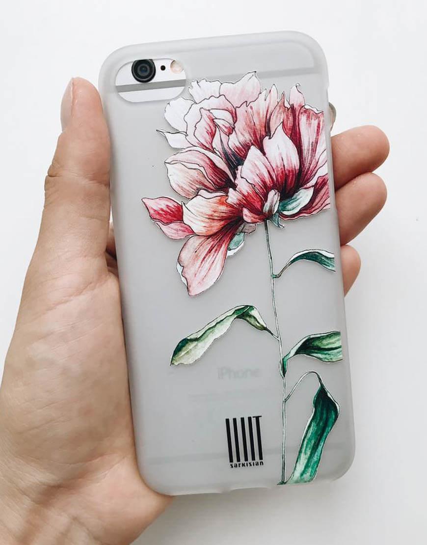 Чехол для iphone Grass pion