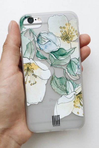 Чехол для iphone Jasmine LSRK_case_jasmine, фото 1 - в интеренет магазине KAPSULA