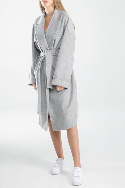 Oversize пальто из шерсти BEAVR_BA_FW17_18_11, фото 1 - в интеренет магазине KAPSULA