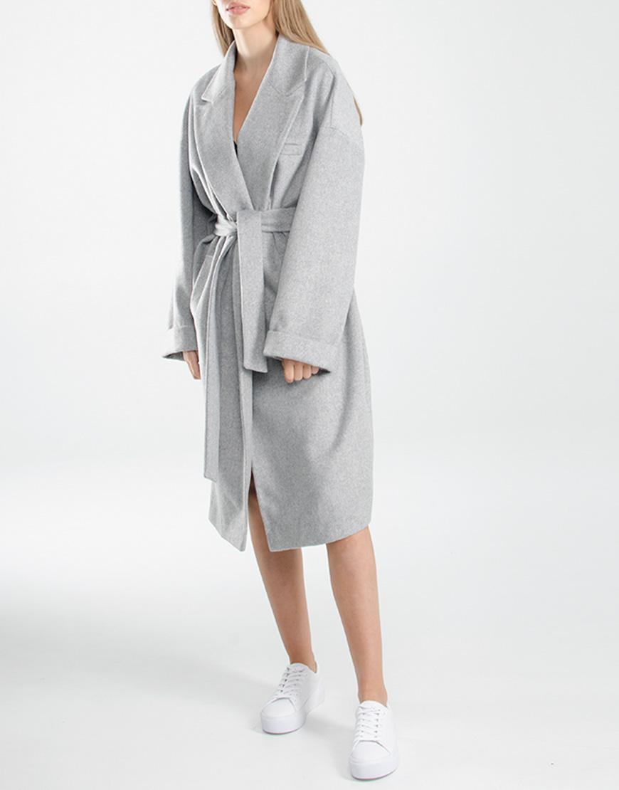 Oversize пальто из шерсти