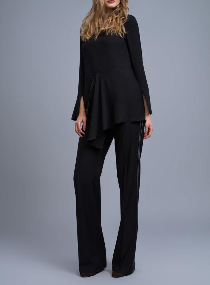 Удлиненная блуза c баской SHKO_16042002_outlet, фото 1 - в интеренет магазине KAPSULA