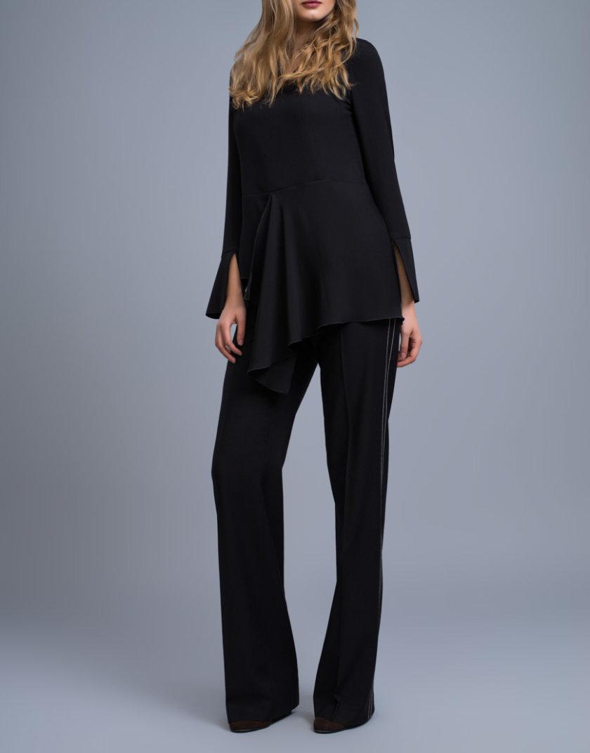 Удлиненная блуза c баской SHKO_16042002_outlet, фото 1 - в интернет магазине KAPSULA