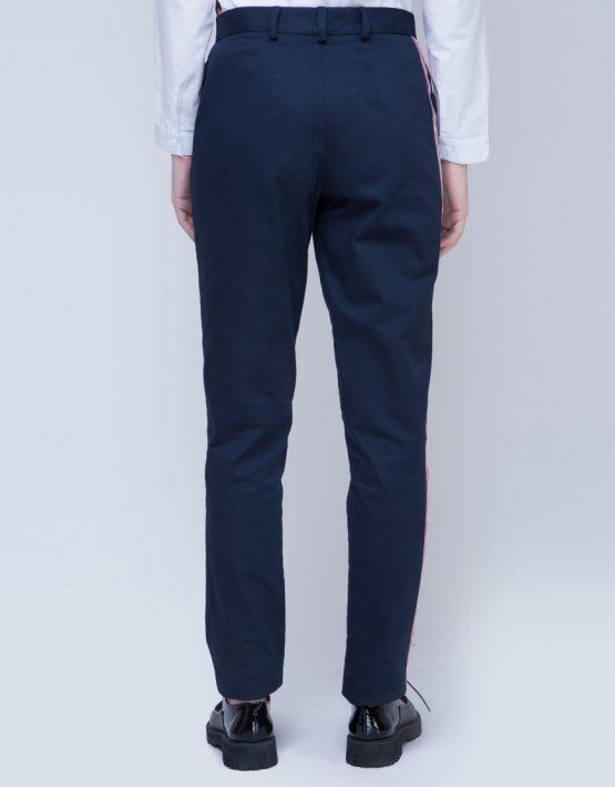 Хлопковые брюки с лампасами INS_FW17_1804_outlet, фото 6 - в интеренет магазине KAPSULA