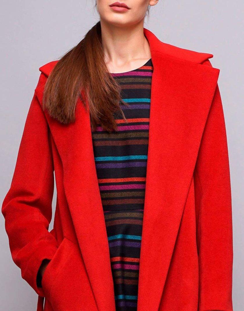 Пальто на запах из шерсти SHKO_15042033, фото 1 - в интернет магазине KAPSULA
